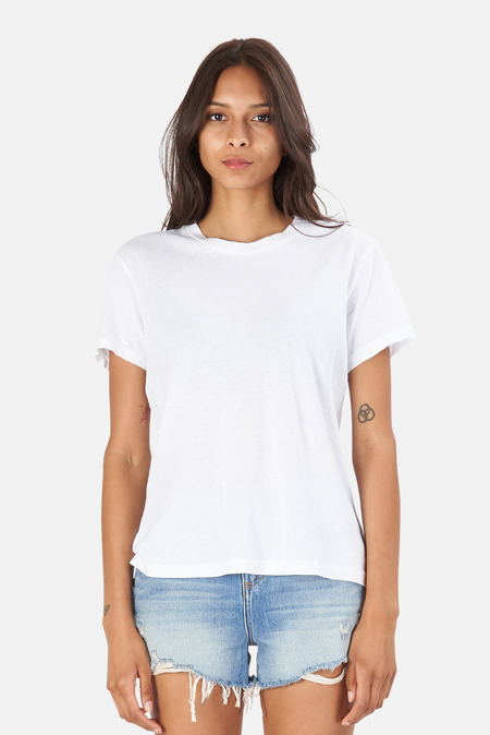 RE/DONE 70s Loose T-Shirt - Optic White