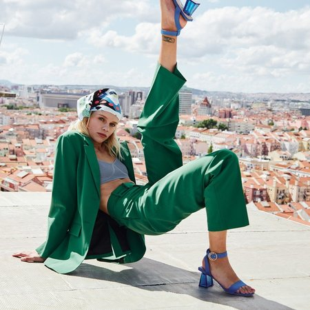 UF SAMPLE SALE SIMONE sandals - Blue
