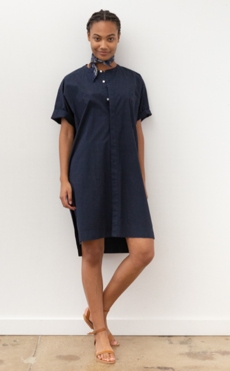 Alex Mill Paulie Tunic Dress - Dark Navy