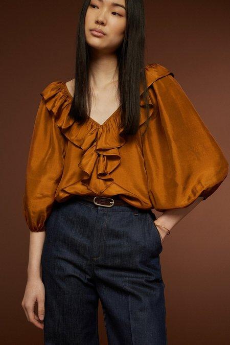 Soeur Marcia Shirt - Burnt Orange