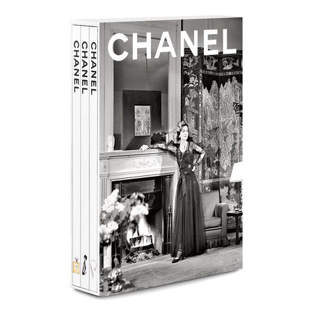 Assouline Chanel: 3-Book Slipcase New 2020 Edition