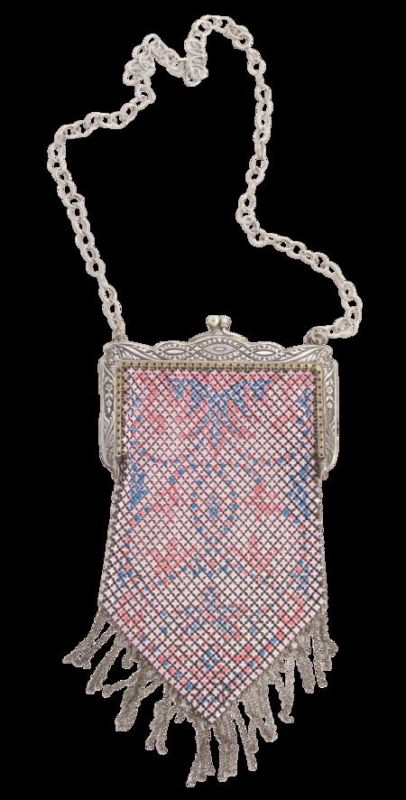 Serendipitous Project Art Deco Chainmail Pouch Necklace
