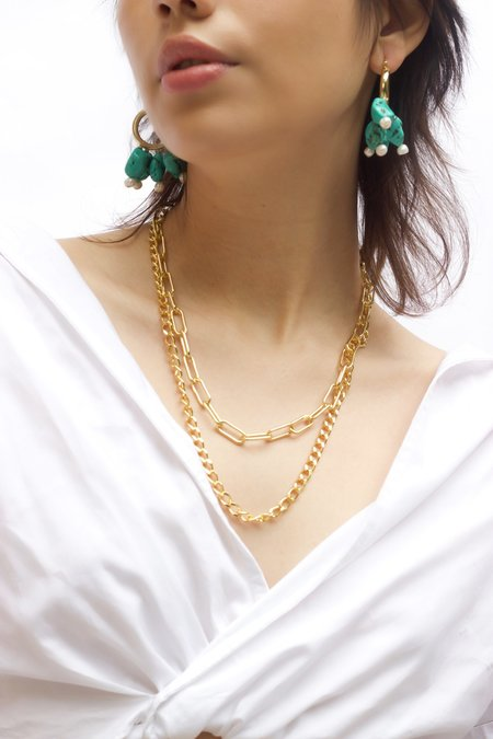 Serendipitous Project El Dorado Chain Duo Pack necklace - 14k gold filled