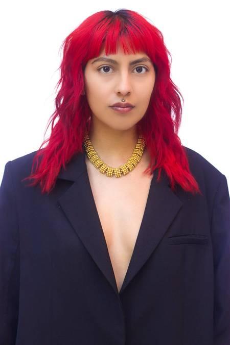 Vintage Heavy Link Collar Necklace