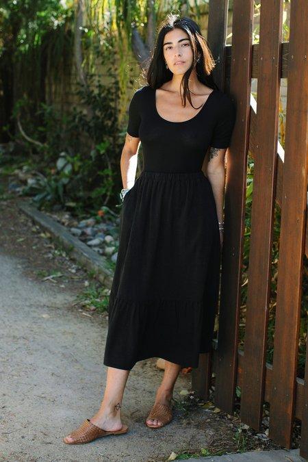 Rachel Pally Evelyn Bodysuit - black