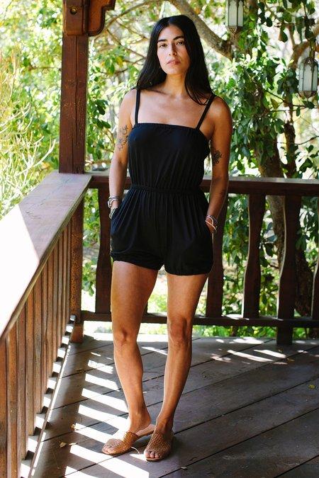 Rachel Pally Nina Romper - black