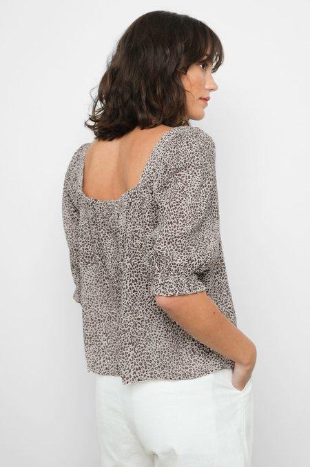 Rails Lola Shirt - sand Cheetah