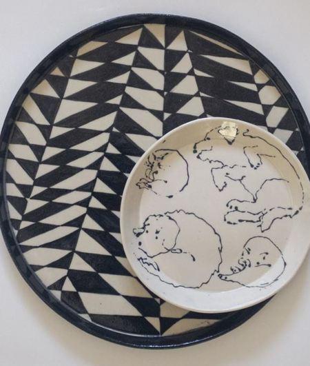 RUST DESIGNS Experiment No. 12 Platter - black/natural