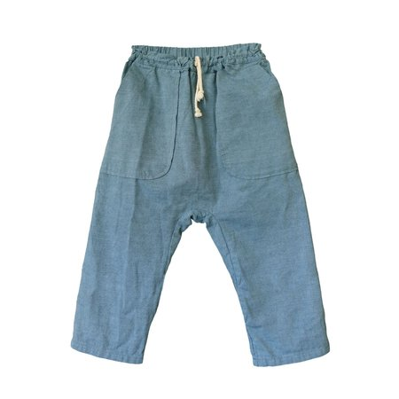 kids Nico Nico Tatum Harem Pant - Belle Blue