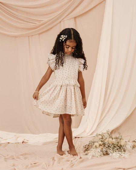 kids Noralee Check Ditsy Alice dress - Fleur