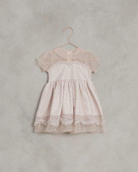 kids Noralee Gidgette Dress - Powder Pink