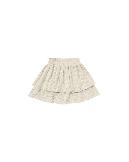 Rylee + Cru Tiered Mini Skirt - natural