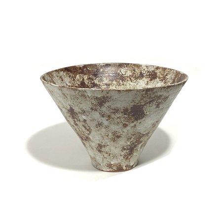 Makiko Hicher-Nakamura Bowl - Rust/Cream