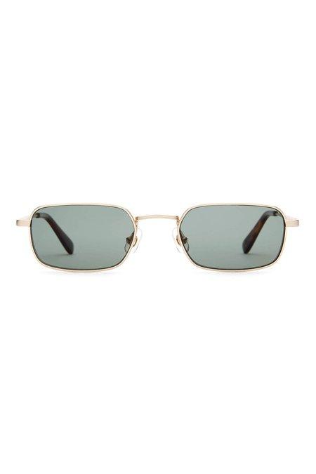 Crap Eyewear The Nu Bloom sunglasses - Brushed Gold/Polarized