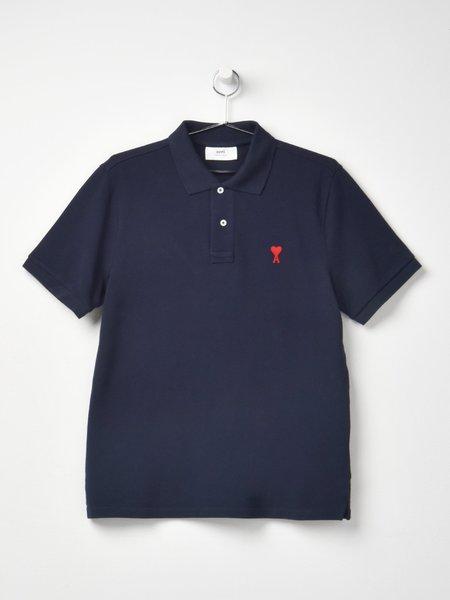 Ami De Coeur Polo Shirt - Navy