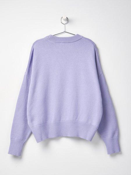 Ami Oversize Ami De Coeur Sweater - Lila