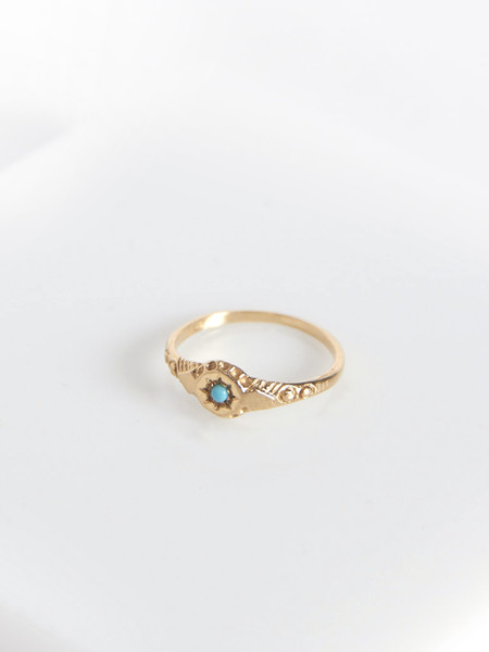 Vale Star Gypsy Ring