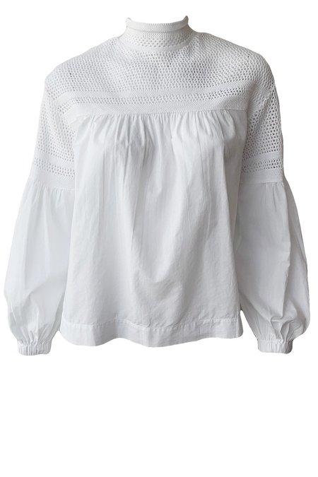 A.L.C. Remi Top - White