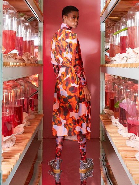 Henrik Vibskov Pipette Dress - Dark Peaches