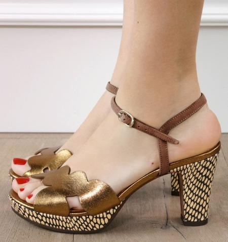 Chie Mihara Elis Bronce Castano Heels - brown