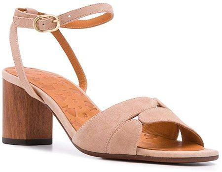 Chie Mihara Lucano heels - Peach