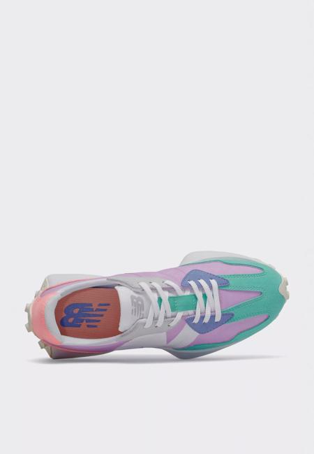 New Balance 327 Sneakers - dark violet/summer jade