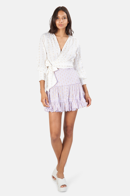 Sunday Saint Tropez Pomponette Skirt - Lilas