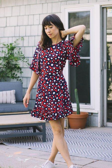 Myrtle Beverly Mini dress - Pop Floral