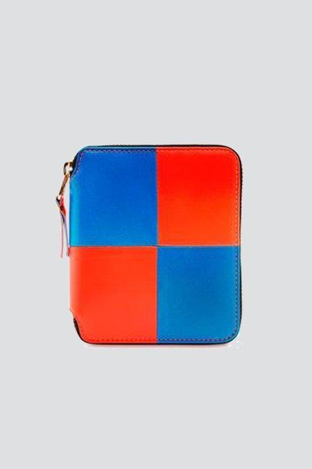 Comme des Garçons Fluo Squares - Blue/Orange