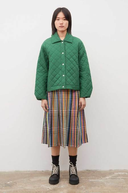 Kowtow Quilt Jacket - Evergreen