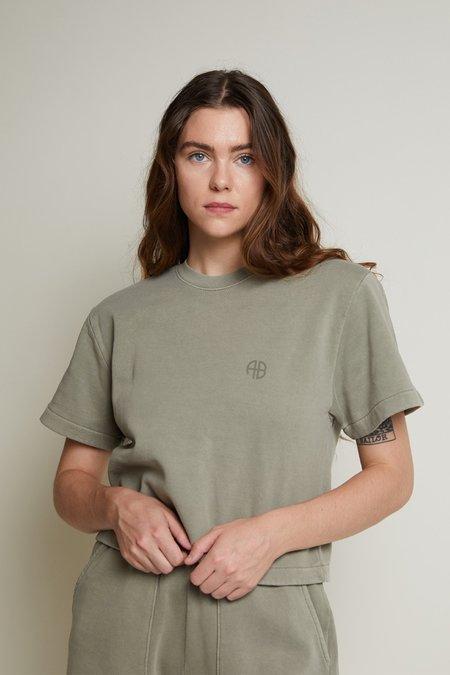 Anine Bing Tori Sweatshirt - Green Khaki
