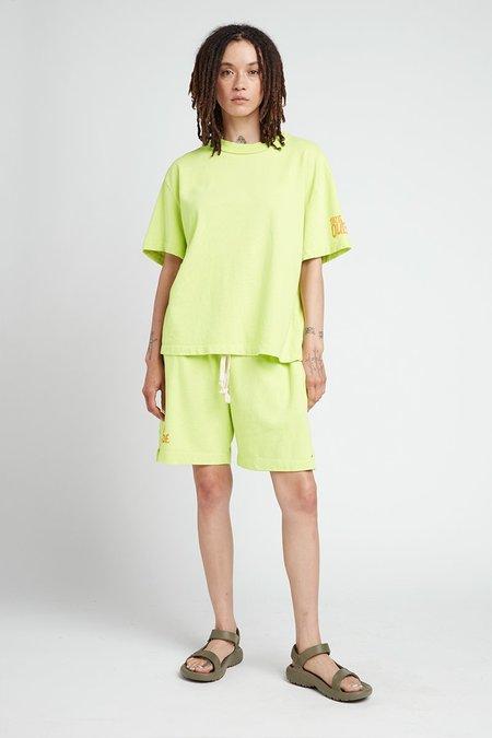 Unisex back beat rags Everybody Shorts - Celery
