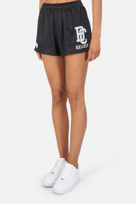 Blue&Cream New York Mesh Shorts - Black