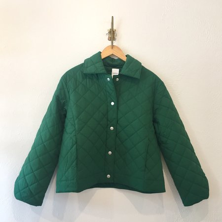 Kowtow Organic Cotton Quilted Jacket - Evergreen