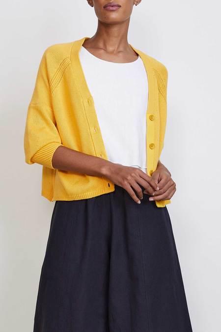 Apiece Apart V Cardigan - yellow