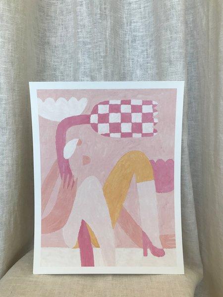 Slowdown Studio Woman Art Print