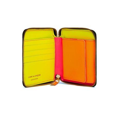 Comme Des Garçons Classic Zip Wallet - Super Fluo/Pink