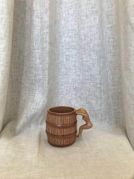Vintage Barrel Cup
