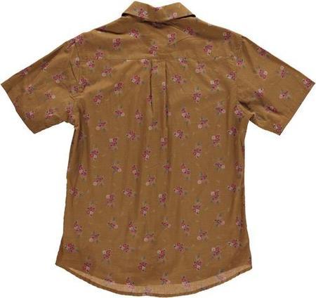 Dushyant Asthana Floral Print Shirt - Ochre