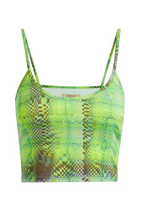 Paloma Wool Oasis Crop Top - PW Print