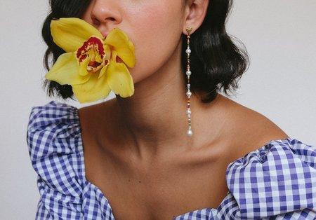 Luiny Heart Drop Earrings
