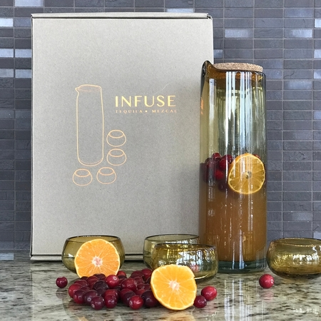 VERVE CULTURE Infuse Mezcal & Tequila infusion + tasting kit