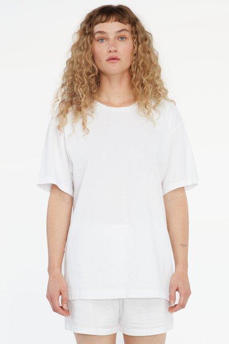 Unisex Lacausa Buzz Tee - Whitewash