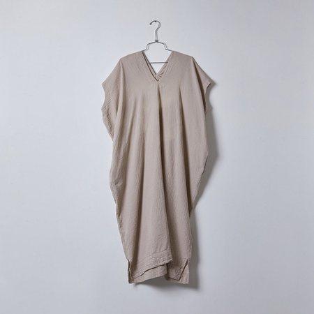 Atelier Delphine Crescent Long Dress - Stone