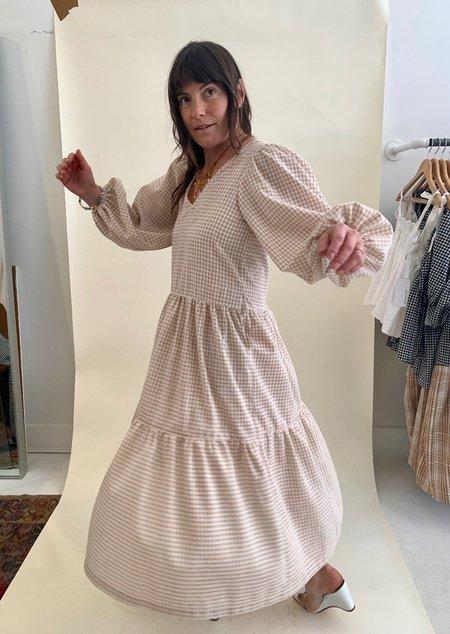 Bronze Age Linen Daphne Dress