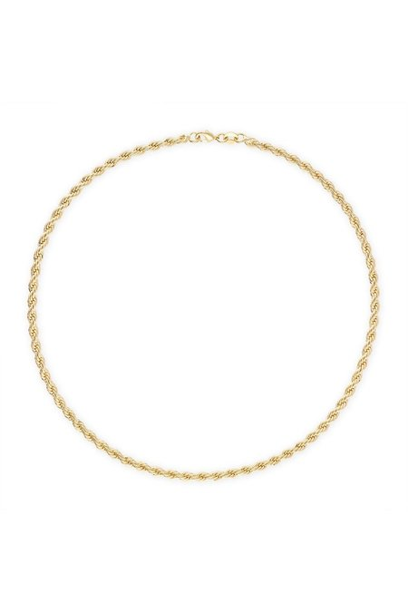 Alexa Leigh Rope Necklace - Gold