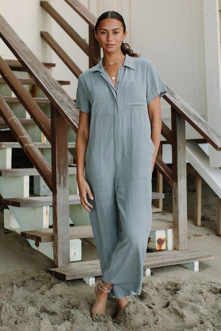 Rachel Pally Linen Joey Jumpsuit - Hazel