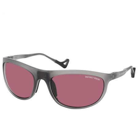 District Vision Takeyoshi eyewear - Grey/Black Rose