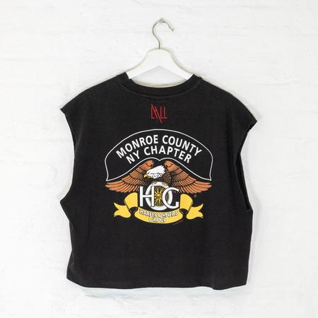 Vintage Harley T tank - black