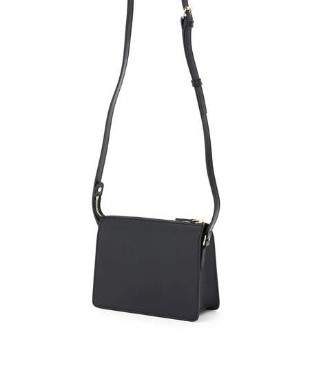A.P.C. Ella Leather Bag - Black